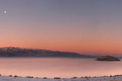 Pyramid Lake Panoramic Sunrise
