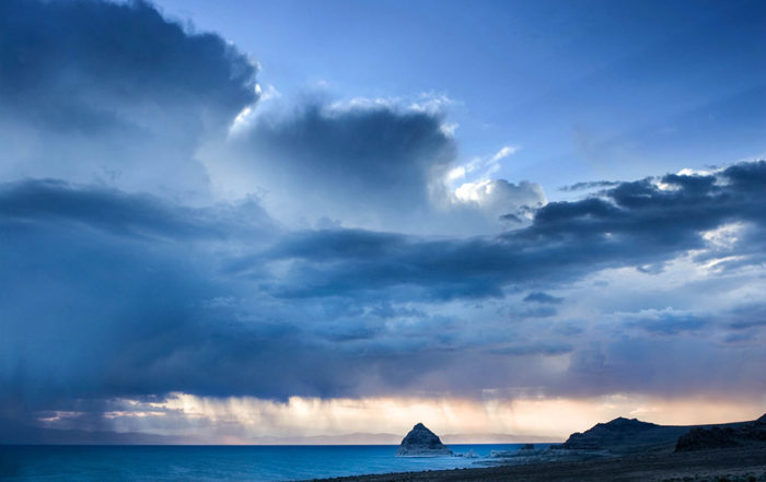 Stormy Pyramid Lake Photography