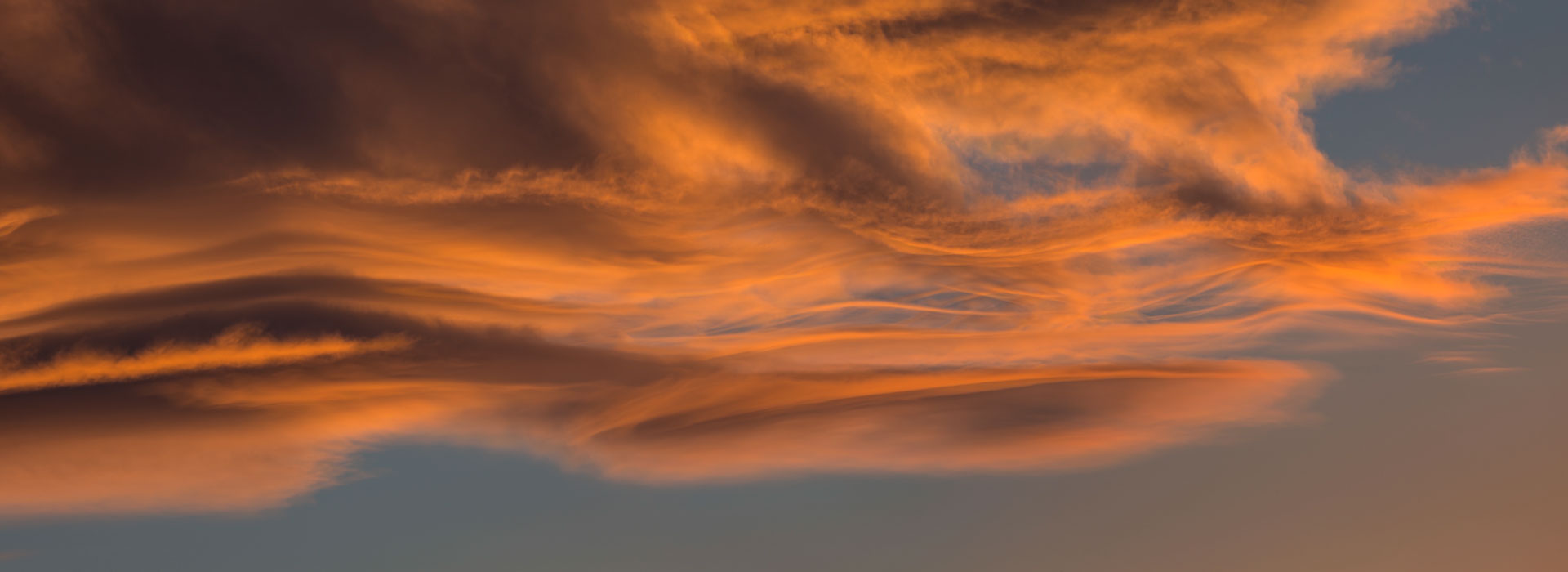 Nevada sunset clouds timelapse video