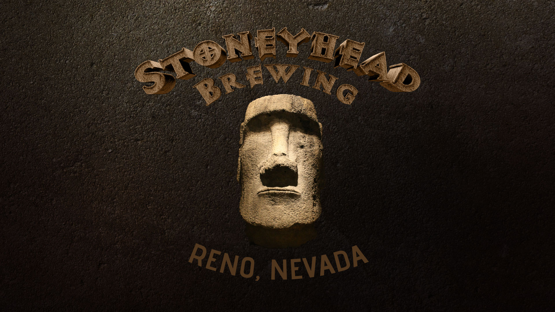 StoneyHead Brewing Logo Design